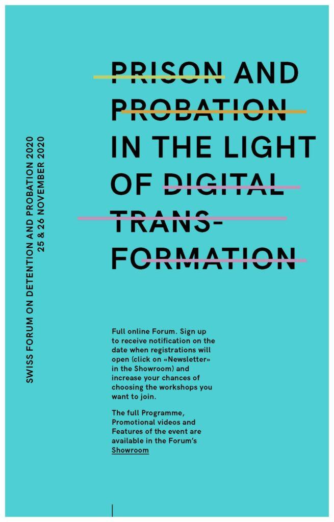 Online Forum on Detention and Probation in Switzerland