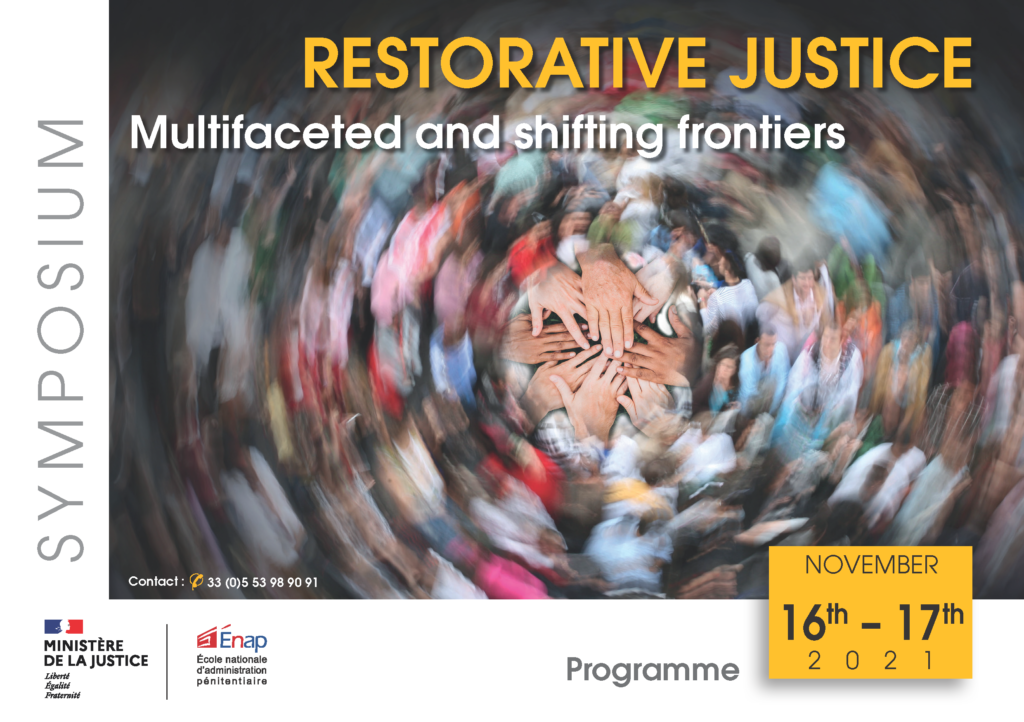 Symposium on restorative justice: multifaceted and shifting frontiers (November 2021)